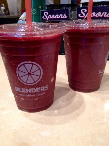"The ""Once in a DMlue Moon"" Smoothie from Blenders"